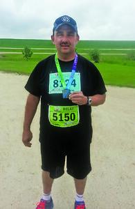 Bison driver in marathon