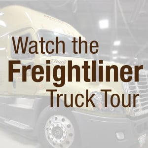 Freightliner Truck Tour video