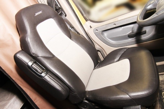 Bose ride system seat