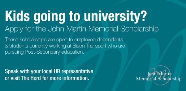 John Martin Memorial Scholarship