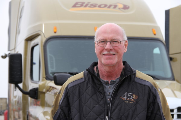 Roger has completed nearly 3 million consecutive safe driving miles.