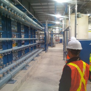 The new water treatment facility is one of several exciting developments at CentrePort.