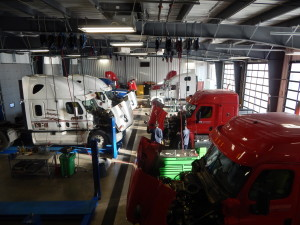Service centres are among many trucking services to be developed on the CentrePort footprint.