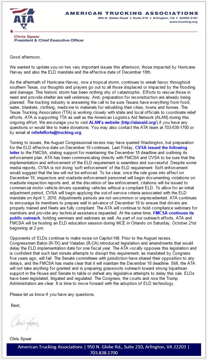 American Trucking Associations ELD Update.png