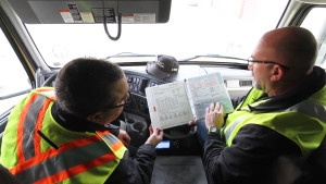 Our In-cab Instructors work with Drivers to develop the necessary skills to enjoy a successful career on the road.