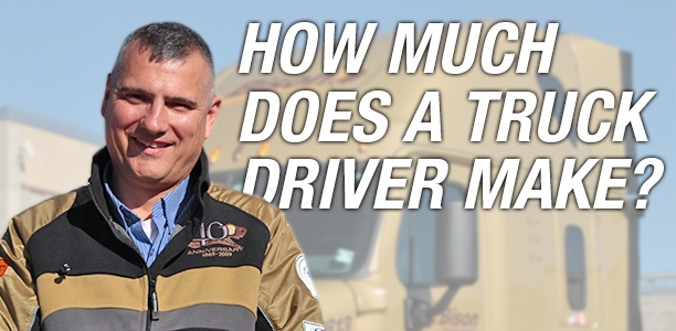 how much does a truck driver make?