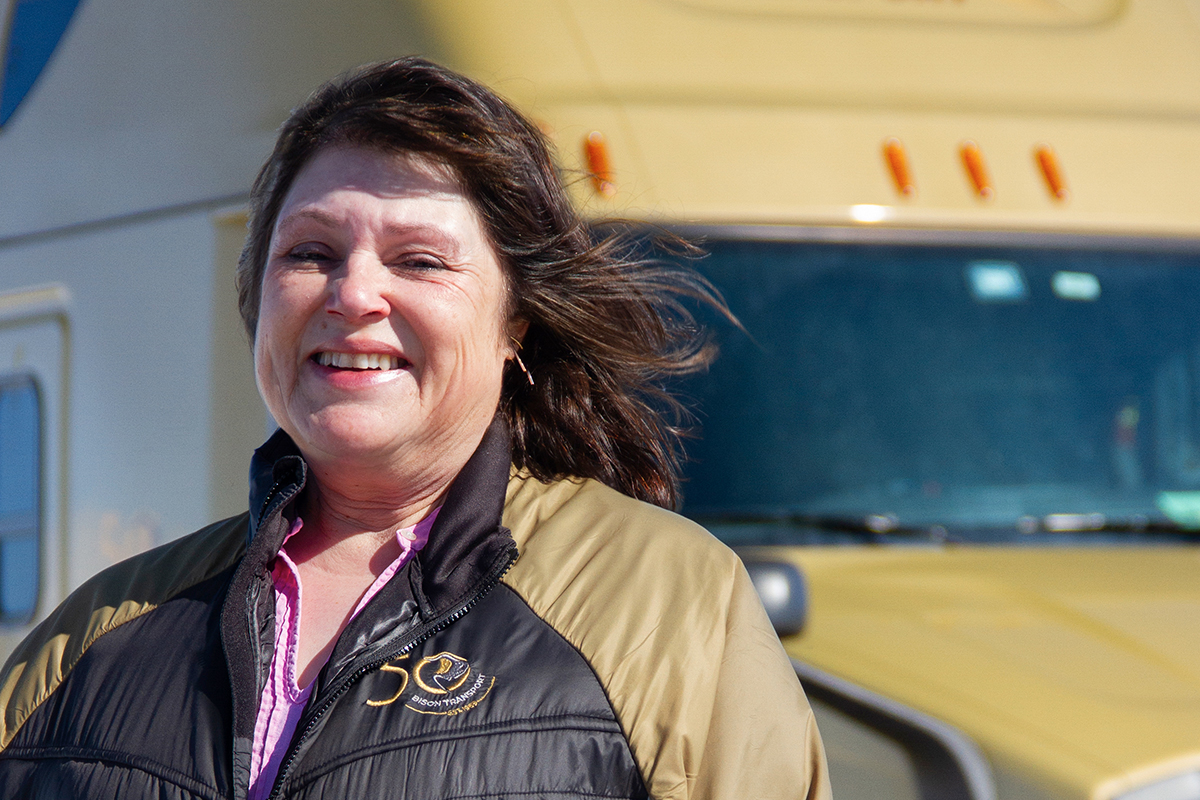 'Girl power' is the driving force in trucking