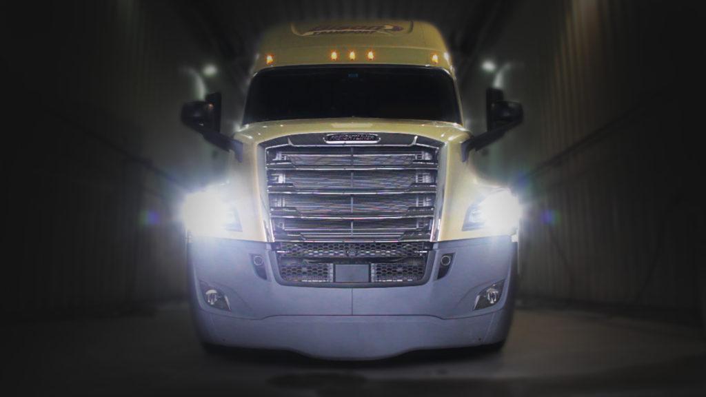 Freightliner pre-series Cascadia hits Bison's fleet